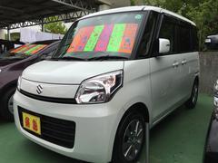 沖縄の中古車 スズキ スペーシア 車両価格 85万円 リ済別 平成25年 6.0万K パールホワイト