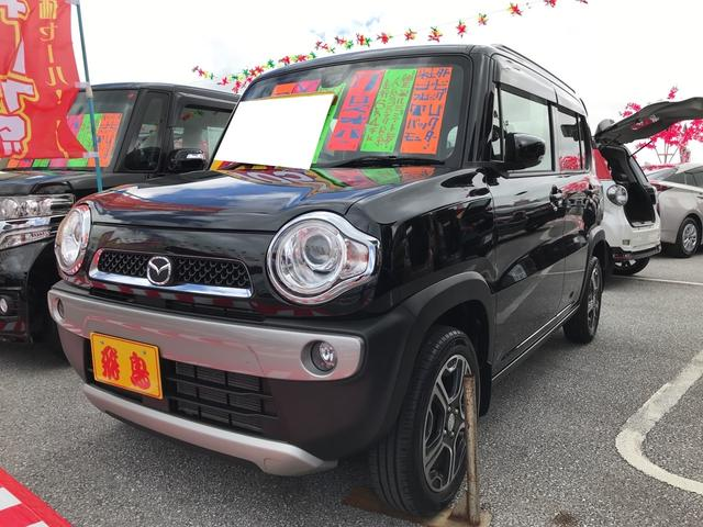沖縄の中古車 マツダ フレアクロスオーバー 車両価格 99万円 リ済別 平成27年 6.4万km ブルーイッシュブラックパール3