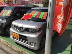 沖縄の中古車 ホンダ ゼストスパーク 車両価格 55万円 リ済別 平成23年 3.6万K シルバー