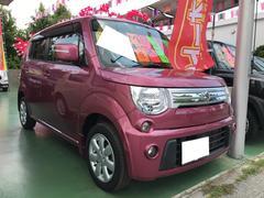 沖縄の中古車 スズキ MRワゴン 車両価格 65万円 リ済別 平成24年 4.3万K カシスピンクパールメタリック