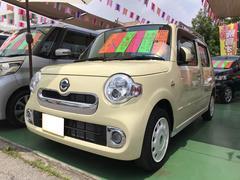 沖縄の中古車 ダイハツ ミラココア 車両価格 99万円 リ済別 平成29年 1.0万K コットンアイボリー