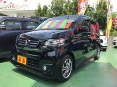 沖縄の中古車 ホンダ N−WGNカスタム 車両価格 89万円 リ済込 平成26年 5.1万K ブラック