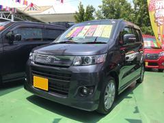 沖縄の中古車 スズキ ワゴンRスティングレー 車両価格 69万円 リ済込 平成23年 5.6万K グレー