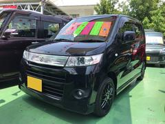 沖縄の中古車 スズキ ワゴンRスティングレー 車両価格 59万円 リ済込 平成23年 7.0万K ブラック
