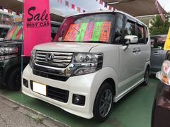 N BOXカスタムG SSパッケージ ナビ TV 軽自動車 AT エアコン