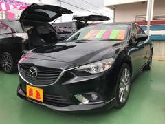 沖縄の中古車 マツダ アテンザセダン 車両価格 139万円 リ済別 平成25年 7.9万K ブラック