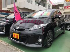 沖縄の中古車 トヨタ エスティマ 車両価格 165万円 リ済別 平成25年 9.6万K ブラック