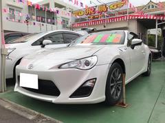 沖縄の中古車 トヨタ 86 車両価格 149万円 リ済別 平成24年 2.7万K サテンホワイトパール