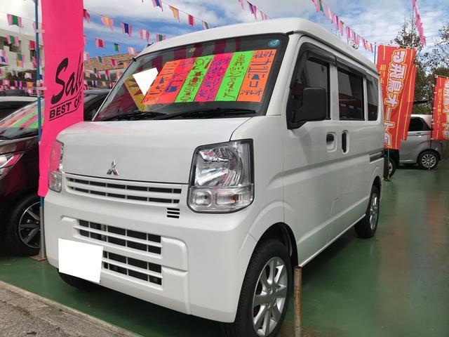 沖縄の中古車 三菱 ミニキャブバン 車両価格 79万円 リ済別 平成27年 3.0万km ホワイト