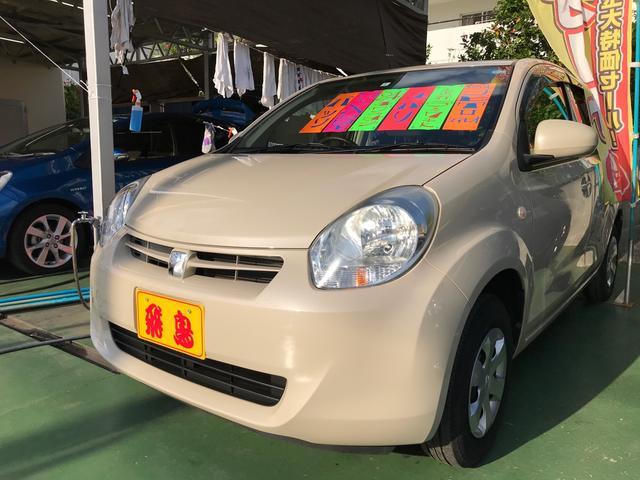 沖縄の中古車 トヨタ パッソ 車両価格 49万円 リ済別 平成24年 3.7万km キナコメタリック