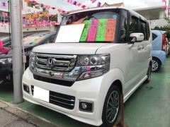 N BOXカスタムG・ターボLパッケージ TV ナビ 軽自動車 ETC LED