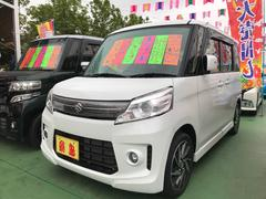 スペーシアカスタムTS ターボ TV ナビ 軽自動車 パールホワイト CVT