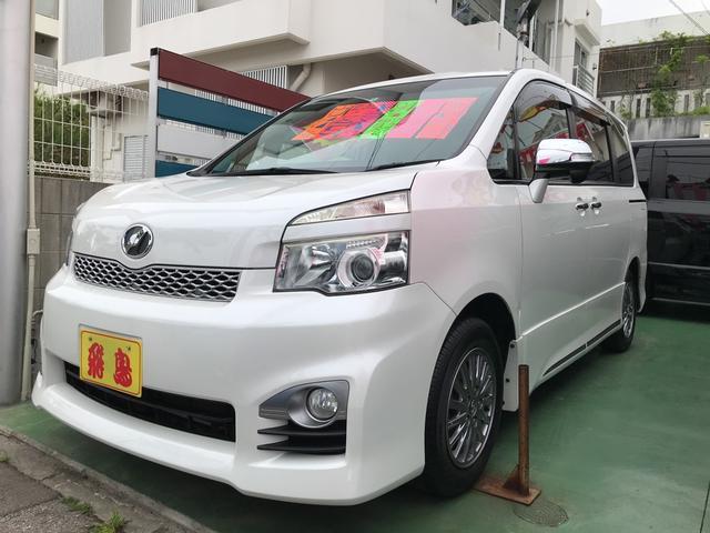 沖縄県の中古車ならヴォクシー ZS 煌II 両側電動スライドドア AW ナビ AC CVT