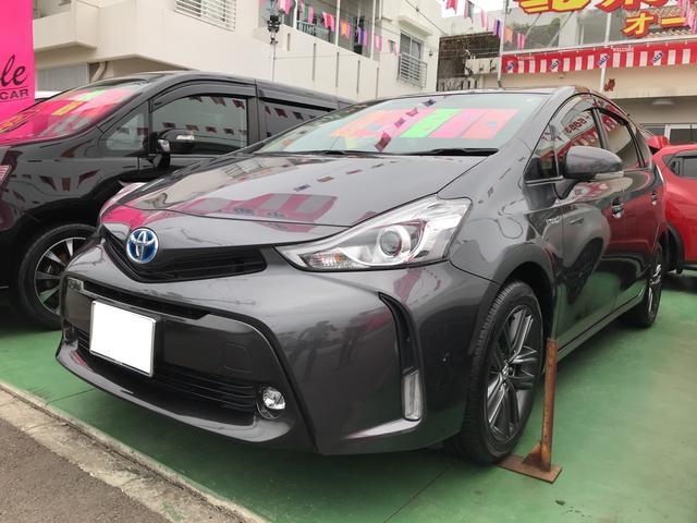 沖縄県の中古車ならプリウスアルファ G ナビ TV バックカメラ AW 後期 AC