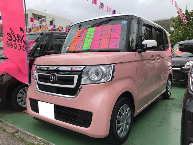 沖縄県の中古車ならN-BOX G・Lターボホンダセンシング ナビ 衝突被害軽減システム