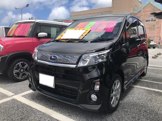 沖縄県の中古車ならステラ カスタムR ナビ 衝突被害軽減システム TV CVT AW
