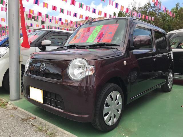 沖縄県の中古車ならミラココア ココアL セキュリティアラーム ワンオーナー車