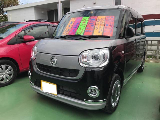 沖縄県の中古車ならムーヴキャンバス Gブラックインテリアリミテッド SAIII TV ナビ
