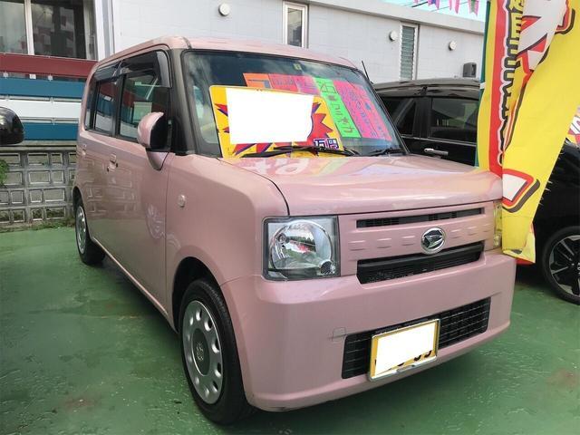 沖縄県の中古車ならムーヴコンテ X エアバッグ フルフラットシート ETC付 ナビ