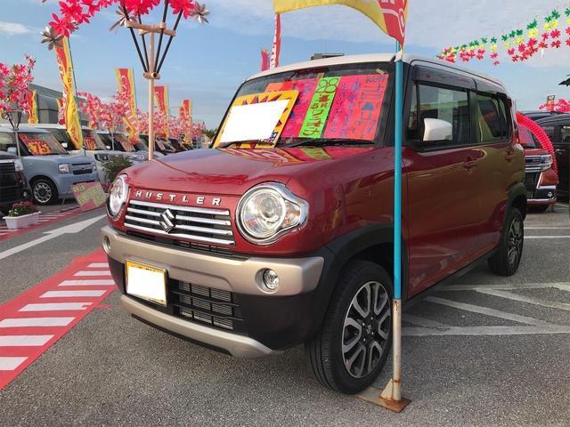 沖縄県の中古車ならハスラー JスタイルII ナビ 軽自動車 衝突被害軽減システム