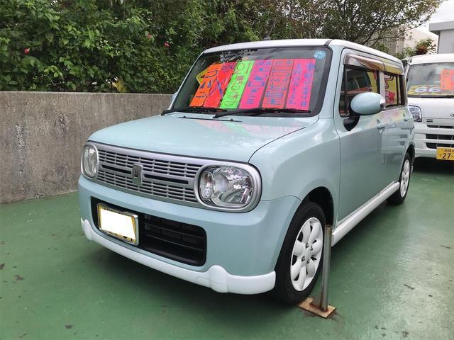 沖縄県の中古車ならアルトラパン X スマートキー ワンオ-ナ- 電格ドアミラー AC