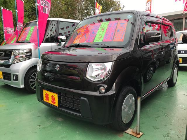 沖縄県の中古車ならMRワゴン X スマートキ- 1オーナー バックカメラ 電格ミラー