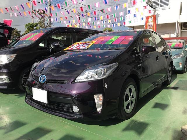 沖縄県の中古車ならプリウス S 純正ナビTV バックカメラ