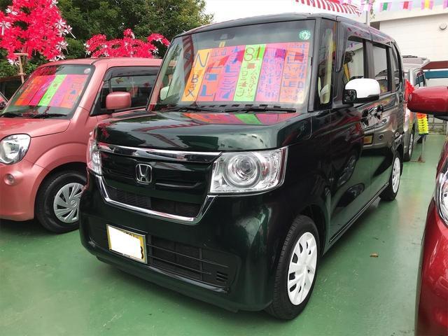 沖縄県の中古車ならN-BOX G・Lホンダセンシング 衝突軽減システム