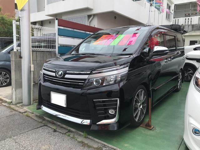 沖縄県の中古車ならヴォクシー ZS 煌II ローダウン 社外マフラー