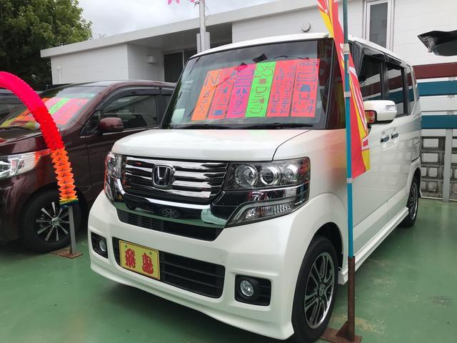 沖縄県うるま市の中古車ならN-BOXカスタム G SSパッケージ