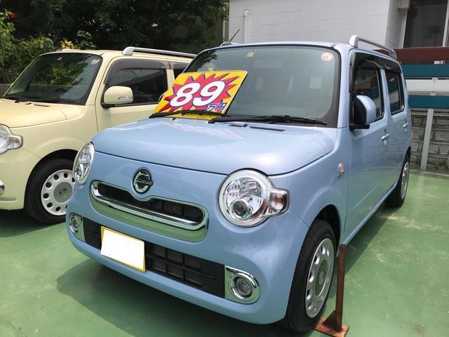沖縄県の中古車ならミラココア ココアプラスX ナビ バックカメラ アイドリングストップ