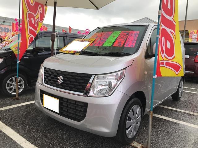 沖縄県うるま市の中古車ならワゴンR FX ワンオーナー アイドリングストップ CD シートヒーター