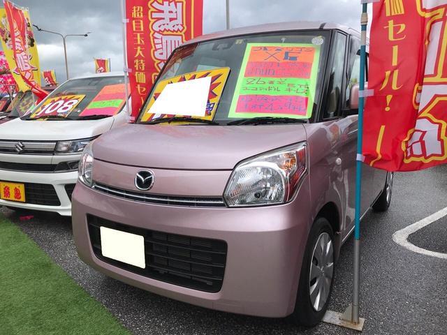 沖縄の中古車 マツダ フレアワゴン 車両価格 75万円 リ済別 2014(平成26)年 5.0万km イノセントピンクパールM