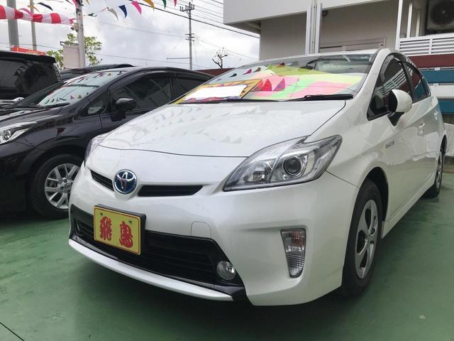 沖縄県の中古車ならプリウス S スマートキー プッシュスタート ナビ フルセグTV バックカメラ アイドリングストップ