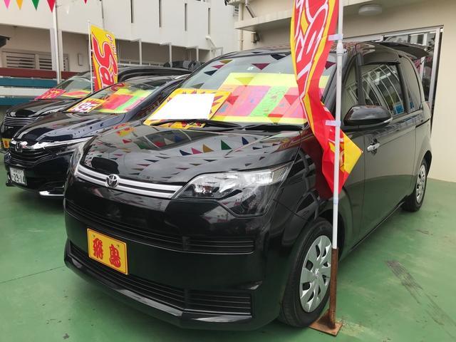 沖縄の中古車 トヨタ スペイド 車両価格 89万円 リ済別 2016(平成28)年 4.6万km ブラック
