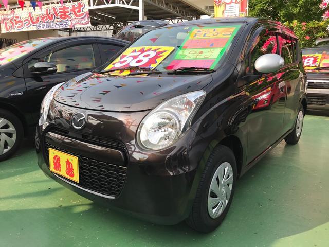 沖縄県の中古車ならキャロルエコ ECO-L スマートキー プッシュスタート アイドリングストップ 社外ナビ TV Bluetooth