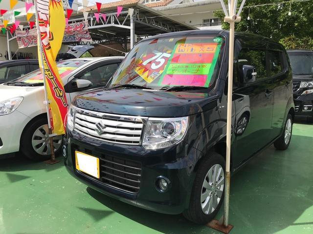 沖縄県の中古車ならMRワゴンWit XS スマートキー プッシュスタート 純正レザー調シート ワンオーナー アイドリングストップ HIDライト