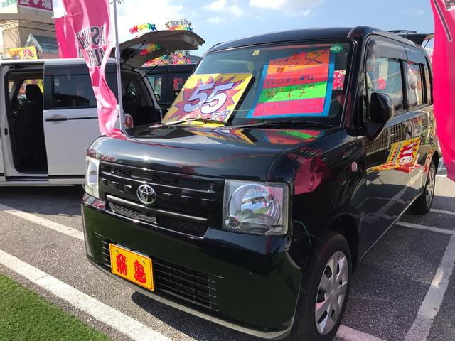 トヨタ ピクシススペース X スマートキー キーフリースタート アイドリングストップ オートエアコン 社外ナビ フルセグTV DVDビデオ Bluetooth ワンオーナー