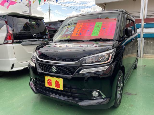 沖縄の中古車 スズキ ソリオバンディット 車両価格 128万円 リ済別 2016(平成28)年 5.5万km ブラックM