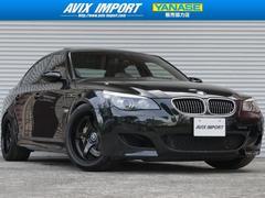 BMWM5 SMGIII後期型 SR白革 HDDナビ SMG交換済