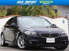 BMW535iMスポーツ 右H直6ターボ ACC黒革 HDD地デジ