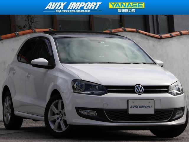 沖縄の中古車 フォルクスワーゲン VW ポロ 車両価格 88万円 リ済別 2012(平成24)年 5.0万km キャンディホワイト