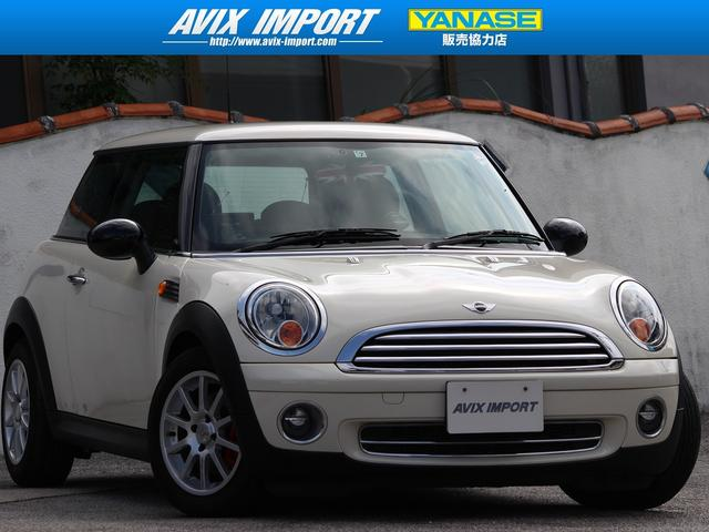 沖縄の中古車 MINI MINI 車両価格 48万円 リ済別 2008(平成20)年 5.8万km ペッパーホワイト