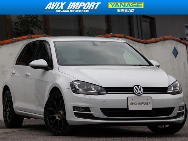 沖縄の中古車 フォルクスワーゲン VW ゴルフ 車両価格 128万円 リ済別 2014(平成26)年 3.3万km キャンディホワイト