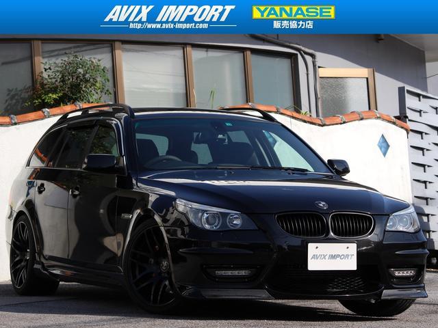 BMW 5シリーズ 550iTRG ENERGYカスタム 黒革 SR 本土仕入