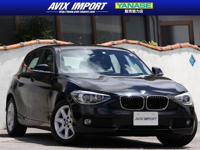沖縄の中古車 BMW 1シリーズ 車両価格 68万円 リ済別 2012(平成24)年 2.6万km ブラックサファイア