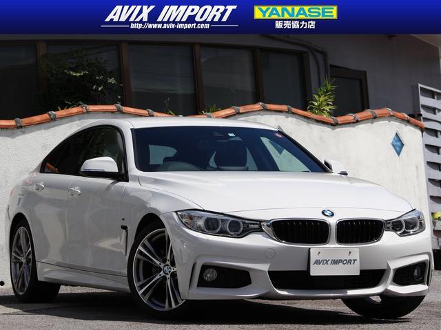 BMW 4シリーズ 420iグランクーペ Mスポーツ ACC 安全支援装置 純正HDDナビ地デジBカメラ 19AW 禁煙1オナ 本土仕入