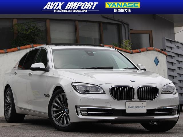 BMW 7シリーズ AHV7 後期型 SR 黒革 ACC HDD地デジ 本土仕入