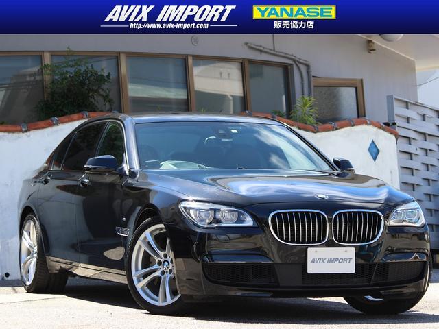 沖縄の中古車 BMW 7シリーズ 車両価格 248万円 リ済別 2014(平成26)年 6.9万km ブラックサファイア