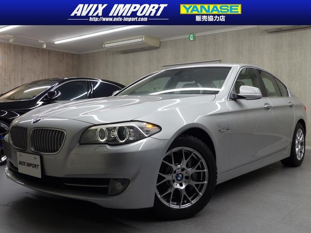 沖縄の中古車 BMW 5シリーズ 車両価格 128万円 リ済別 2012(平成24)年 3.0万km チタンシルバー